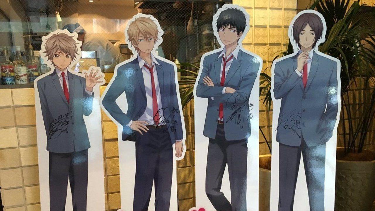 アニメ『私モテ』のコラボメニューを男性陣4人のキャストが実際に目の当たりする!そしてキャラ達も…?