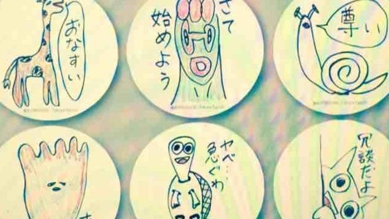 BIGぬいぐるみに視線を感じる…。江口拓也さんLINEスタンプのイラストがプライズとしてゲームセンターに降臨!