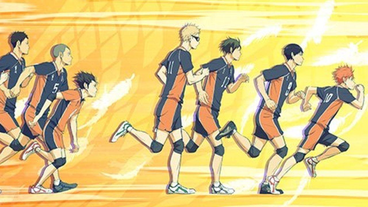 アニメ『ハイキュー!!』EDテーマのCDジャケットは日向・影山達を筆頭に烏野メンバーが駆ける!
