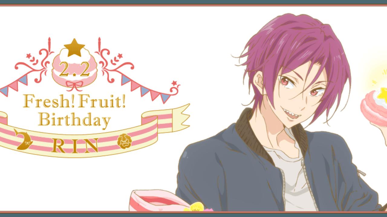 『Free!ES』凛の誕生日を祝うグッズが公開!少し子どもっぽい表情の描き下ろしイラスト!