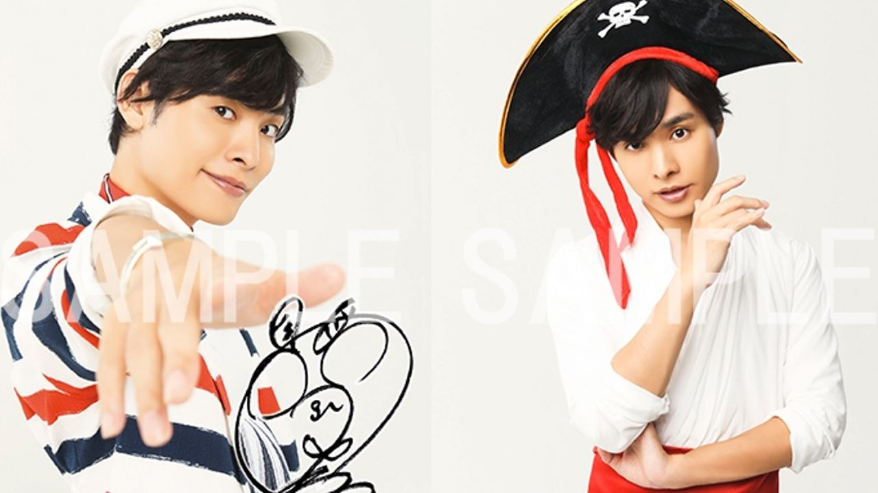 岡本信彦さん1stフルアルバムの店舗特典のデザインが公開!海賊風の衣装などアルバムにあった衣装がきまっている!