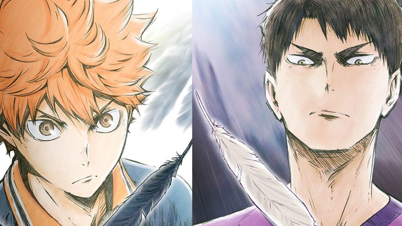 『ハイキュー!!』Blu-ray&DVD第1巻の展開図が公開!対峙する2人の表情から目が離せない!!