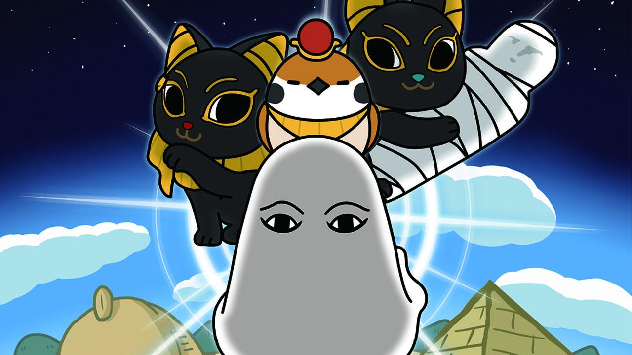 主題歌は森川智之さんが担当!アニメ『神々の記』が11月より放送開始!メジェド様がアニメになってやってくる