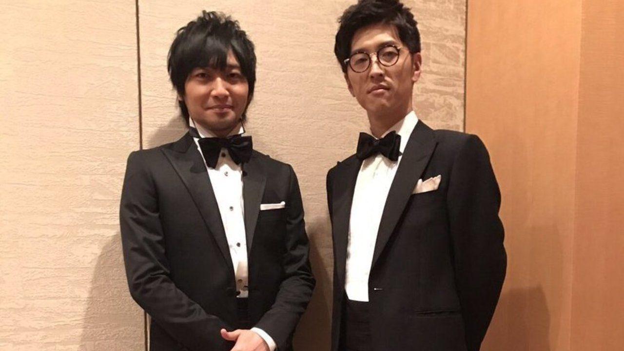 中村悠一さんと櫻井孝宏さんのタキシード姿!映画『虐殺器官』を代表して東京国際映画祭のレッドカーペットに登場!