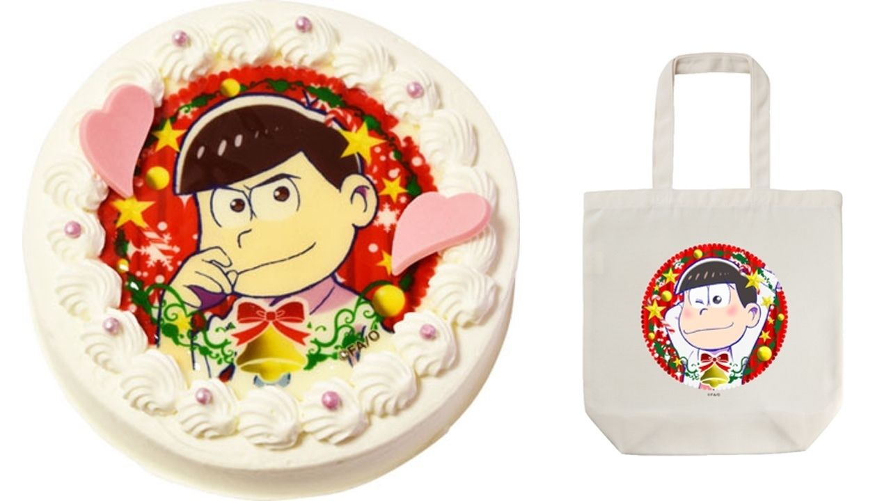 今年のクリスマスケーキは決まってる?『おそ松さん』よりクリスマスキャラケーキが登場!