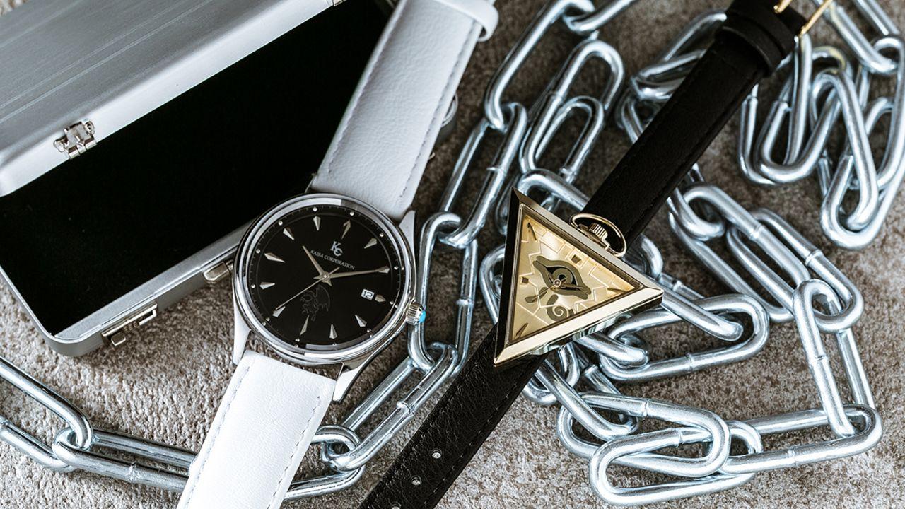 『遊☆戯☆王』より千年パズルや海馬コーポレーションをモチーフにした腕時計が商品化!これでアナタも海馬コーポレーションの社員に!