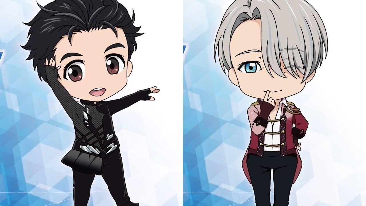 『ユーリ!!! on ICE』が早くもねんどろいど化決定!衣装で登場する2人は勇利とヴィクトル!