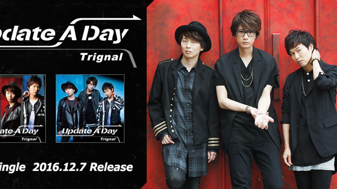 「Trignal」2ndシングル「Update A Day」のジャケット、PVなど公開!いつもより大人な「Trignal」に