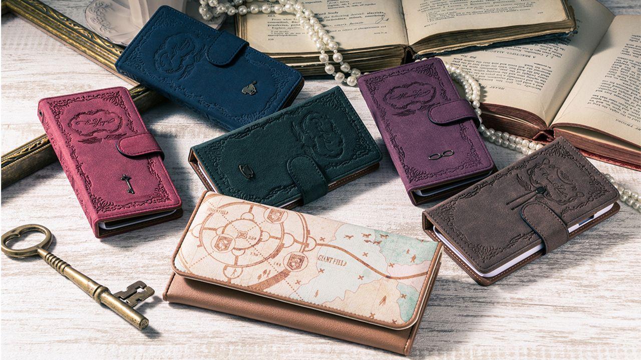 戦いに必要なアイテム?『進撃の巨人』の世界の地図が描かれた財布と5種類のスマホケース!
