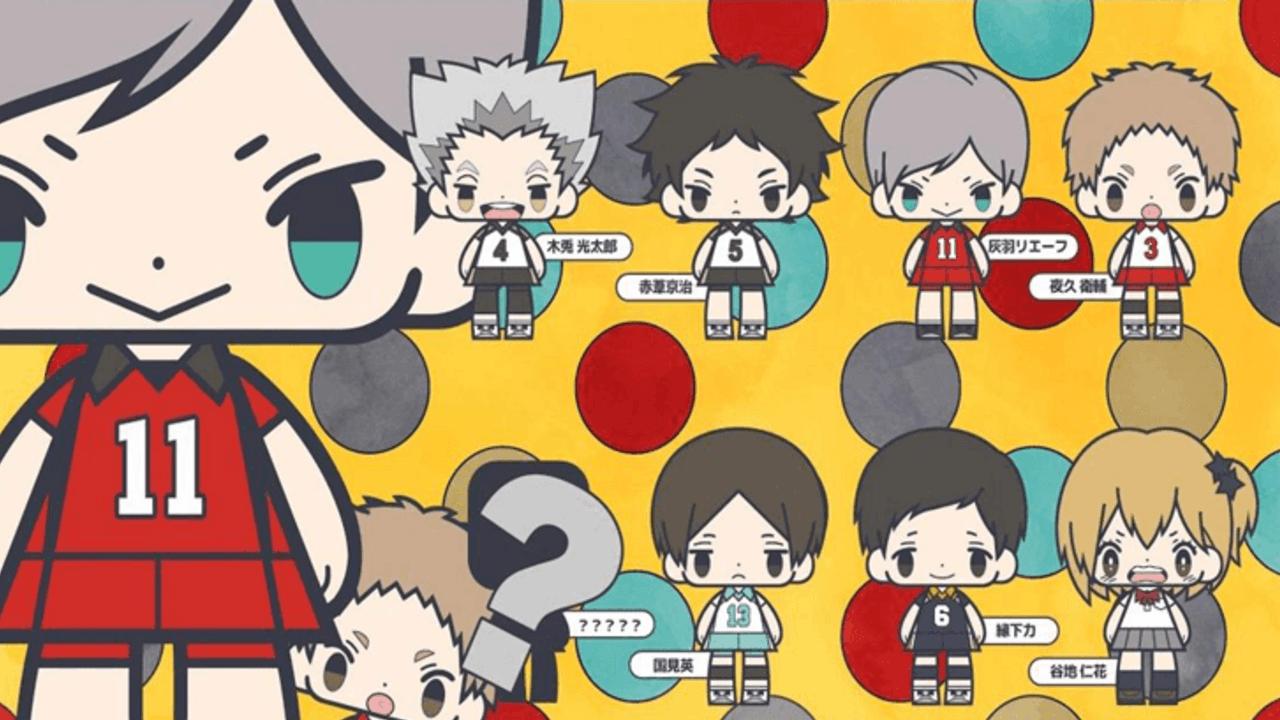 東京組も登場!『ハイキュー!!』こえだらいずラバストコレクション第3弾発表!