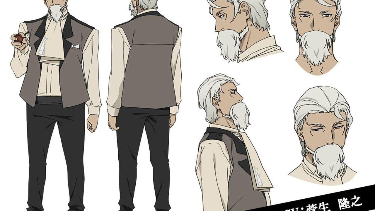 アニメ『文スト』設定画二十六弾は組合からハーマン・メルヴィル!CVは菅生隆之さんに決定!