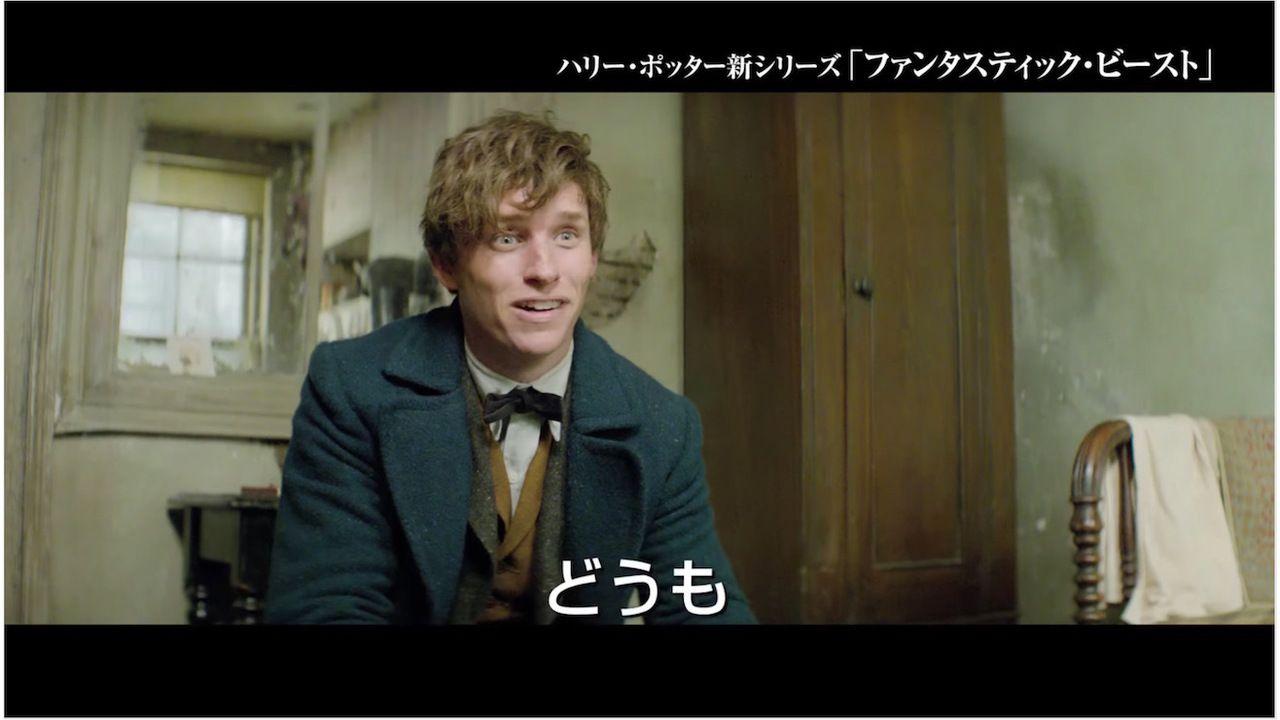 宮野真守さんの演技が輝く映画『ファンタスティックビースト』予告公開!劇場で吹き替え版を観たい!