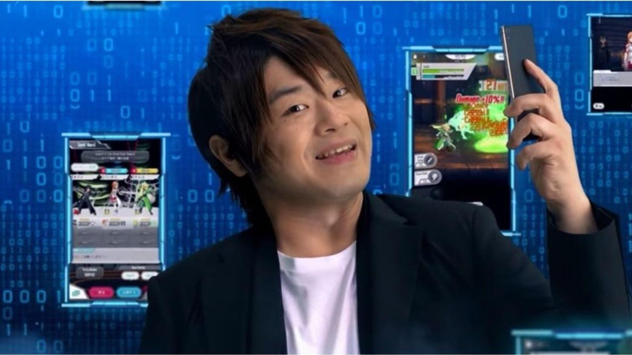 松岡禎丞さんが『SAO』の世界へ!バンナムの思い切ったCMで松岡さんの魅力が最大限に発揮される