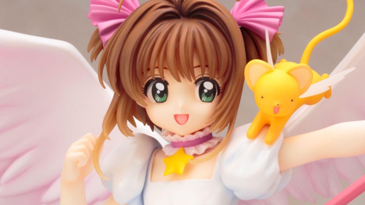 ケロちゃんも一緒!『CCさくら』さくらカード編のOP衣装のさくらちゃんが空を駆けるフィギュアが登場!