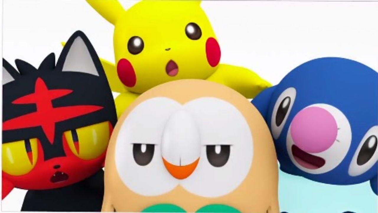 癒やし空間 『ポケモン』より新御三家と遊ぶピカチュウの姿を発見!