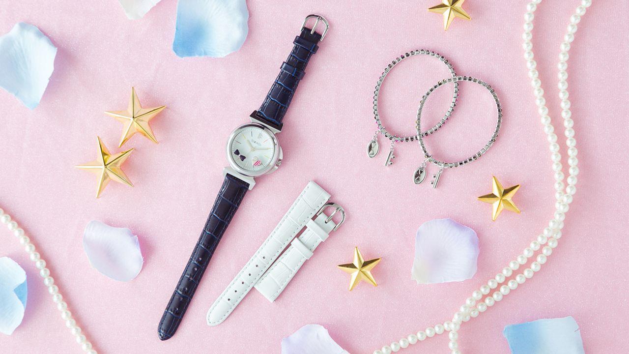 どちらを選ぶ?『アイナナ』のRe:valeをモデルにした腕時計、ブレスレット、バッグが登場!