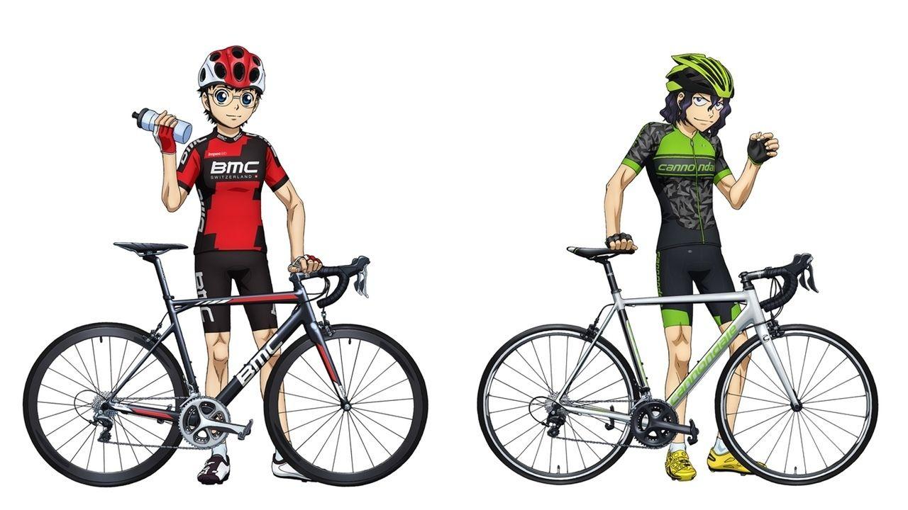 『弱虫ペダル』が2つの世界的自転車メーカーとコラボ!小野田&手嶋のコラボビジュアル公開