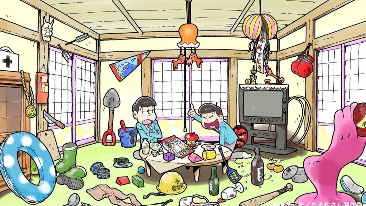 dTVで『おそ松さん おうまでこばなし』が配信開始!BD・DVD特典映像「ショートフィルムシリーズ」も本日独占配信