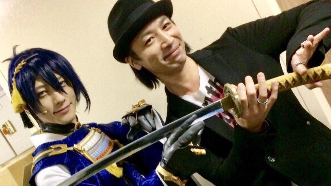 舞台『刀剣乱舞』の裏側では夢の実現が!鈴木拡樹さんと鳥海浩輔さんでW三日月宗近が降臨!