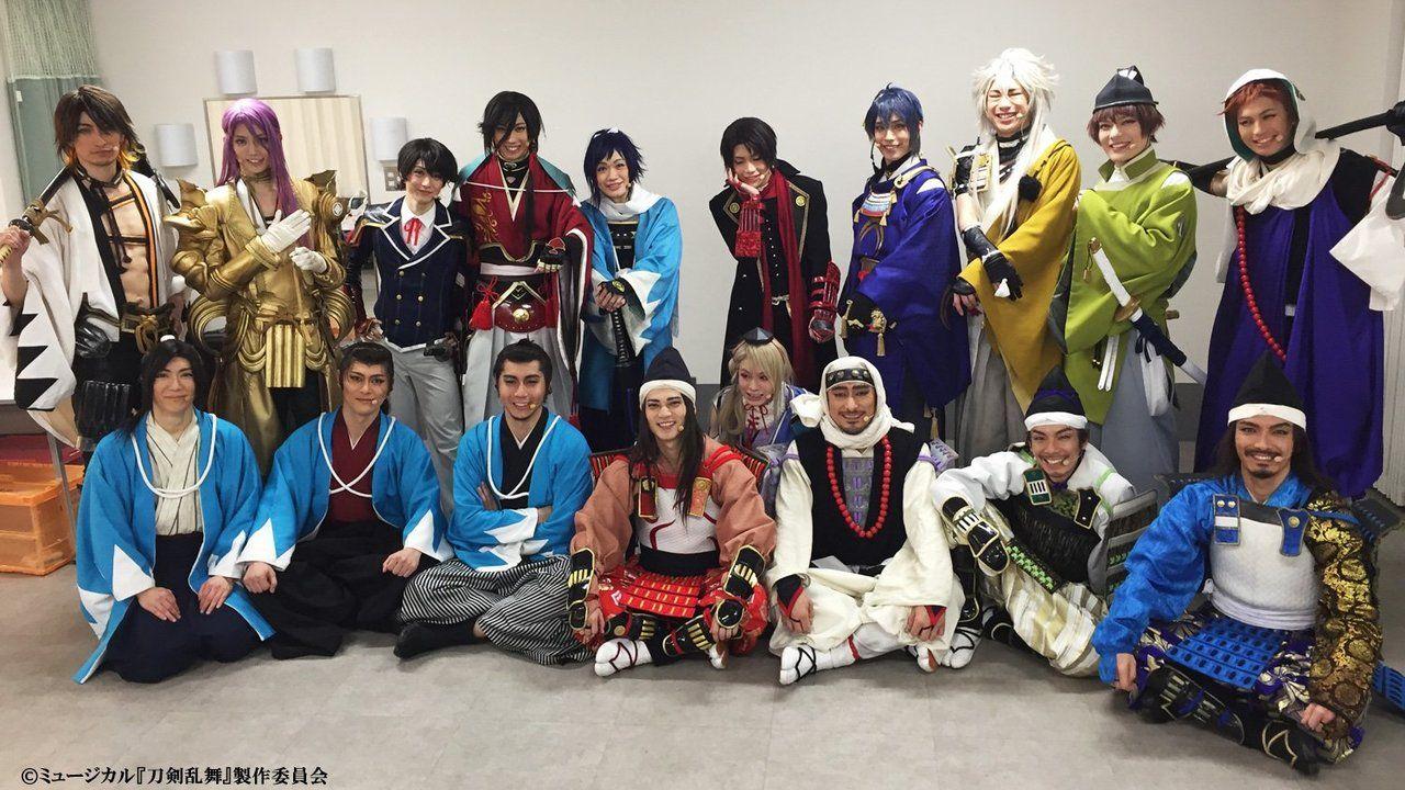 ミュージカル『刀剣乱舞』の2017年 新作公演の詳細が公開!新作公演には荒木宏文さん、 財木琢磨さんが出演!