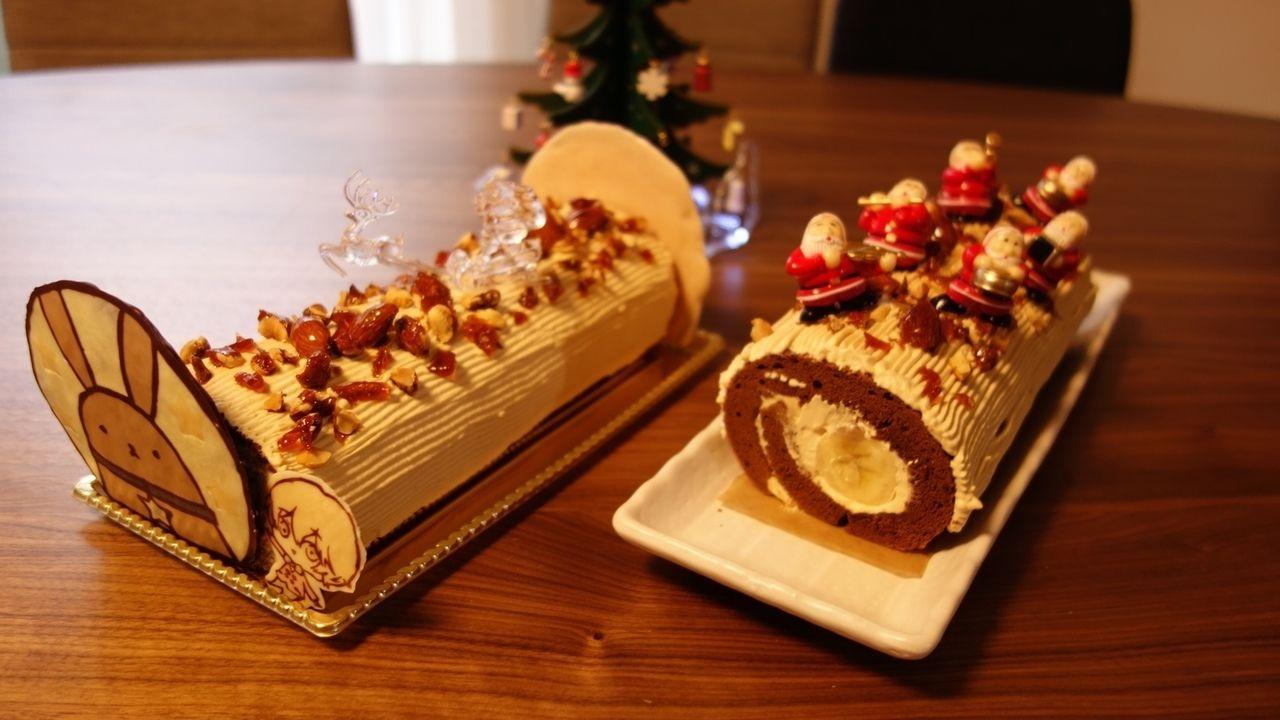 メリークリスマス!クリスマスケーキ&痛チョコを作ってクリスマスを満喫してみた