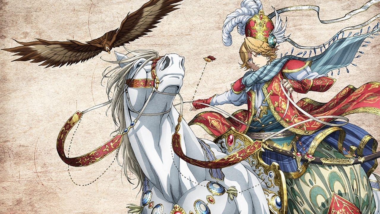 エキゾティック英雄譚『将国のアルタイル』が2017年TVアニメ化決定!PVにビジュアル、キャスト公開も