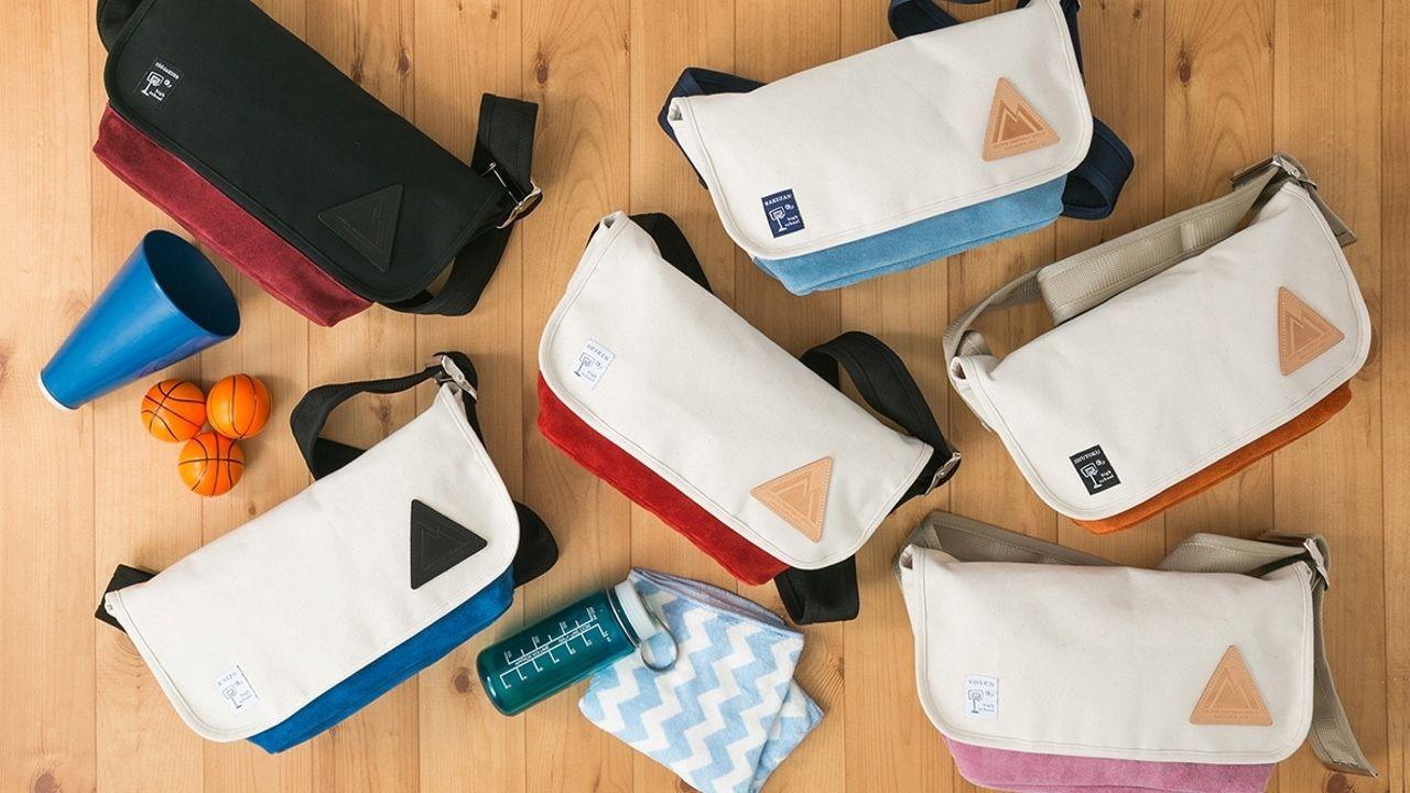 『黒子のバスケ』よりキセキの世代の各学校ユニフォームをイメージしたメッセンジャーバッグが登場 !
