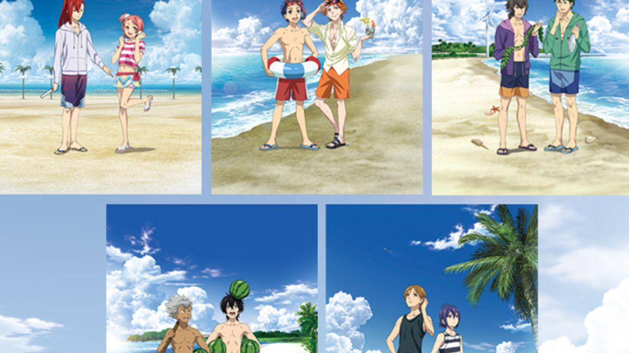 『キンプリ』より2人1組に分かれた「ご当地ビーチシリーズユニット前売り券」の発売決定!