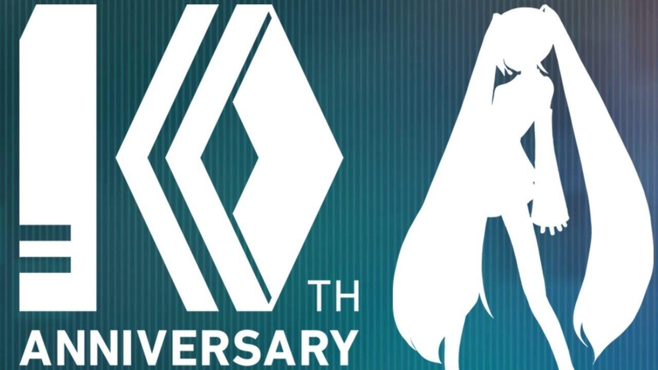 今夏に10周年を迎える『初音ミク』のティザーサイトがオープン!謎のカウントダウンも開始!