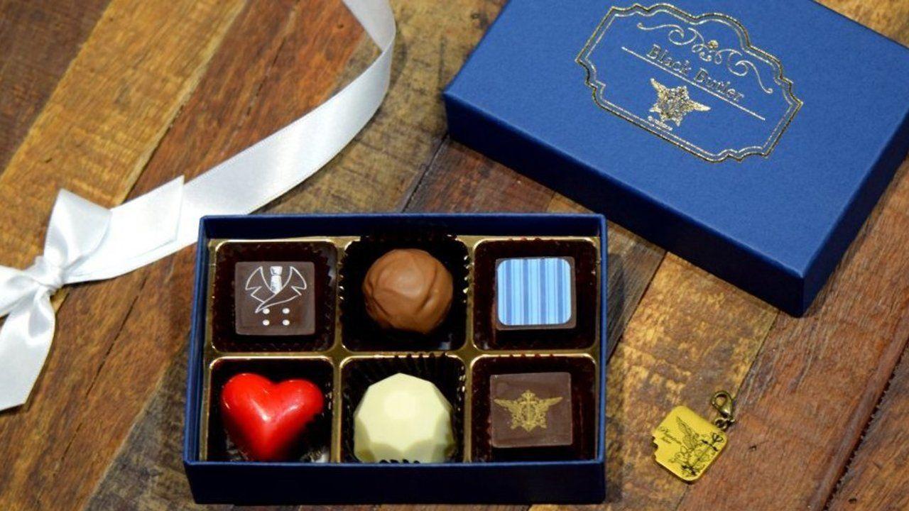 高級感溢れるチョコが素敵!劇場版『黒執事 Book of the Atlantic』公開記念チョコレートが登場!