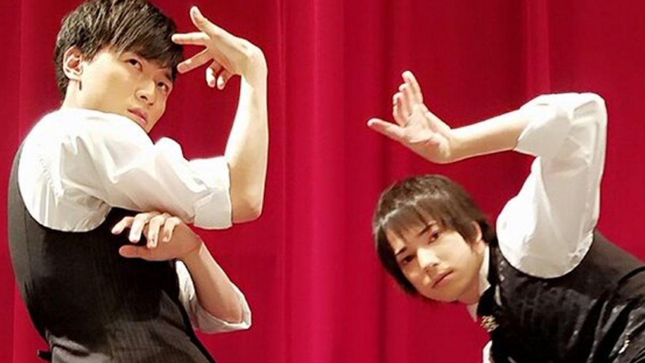 2枚目はふざける法則!?畠中祐さん&ランズベリー・アーサーさん「ときめきレシピ」のイベント写真公開!