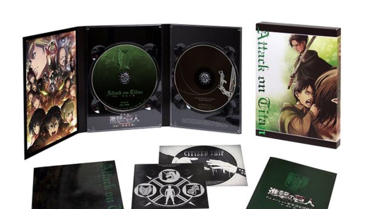 『進撃の巨人』劇場版BD&DVDジャケット&BD 豪華特典情報公開!