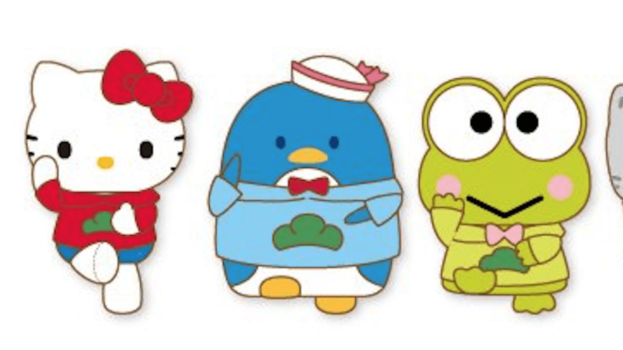 松パーカーを着たサンリオキャラがシェー!『おそ松さん』×サンリオキャラクターズより新たなコラボグッズが登場!