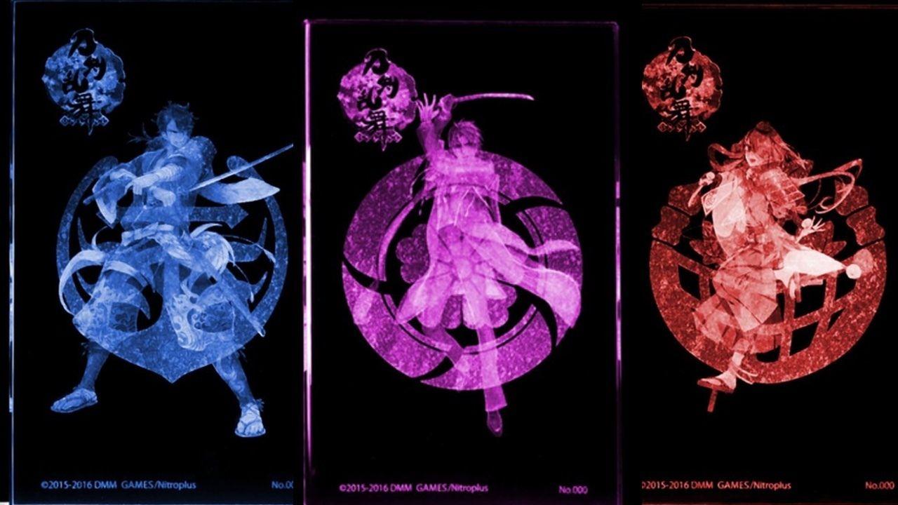 『刀剣乱舞』よりへし切長谷部、陸奥守吉行、今剣が美しく光るプレミアムクリスタルシリーズに参加!