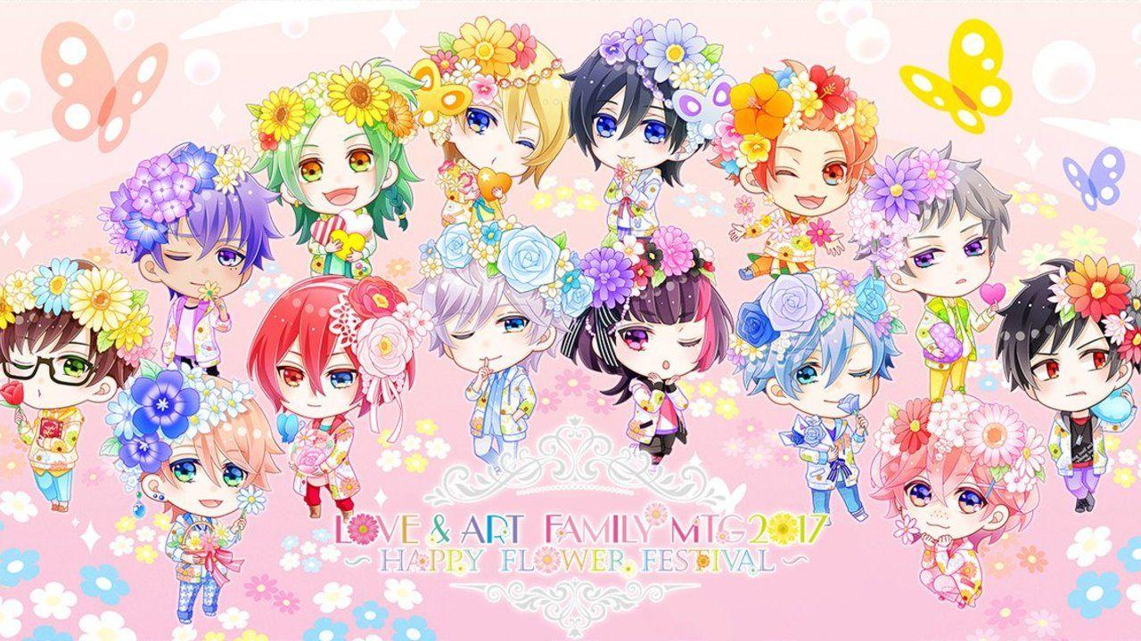 まさに花の妖精さん!花冠をかぶった『Bプロ』メンバーのキュート過ぎるSDイラストがお披露目!