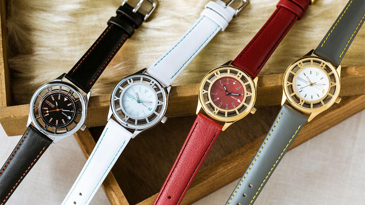 『ハイキュー!!』に登場する烏野、青葉城西など4校のユニフォームをイメージした腕時計が登場!